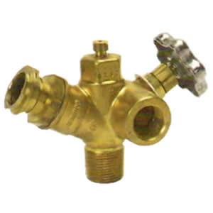 Multivalve for ASME tank - no relief valve