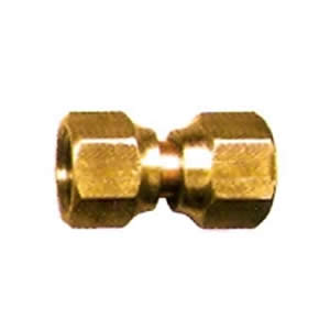 Female Flare Swivel Brass Coupler