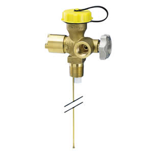 Multivalve for 100lb DOT Propane Cylinders