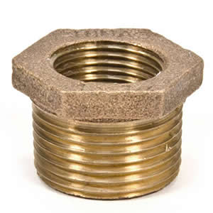 Brass Bushing - Pipe Thread